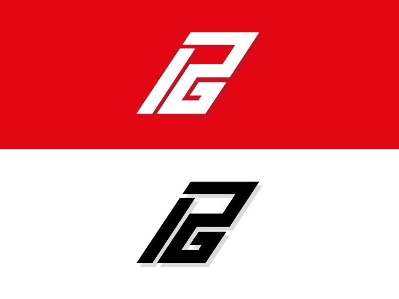 Paul George Shoe Logo paul george basketball typography icon logo branding illustrator vector design