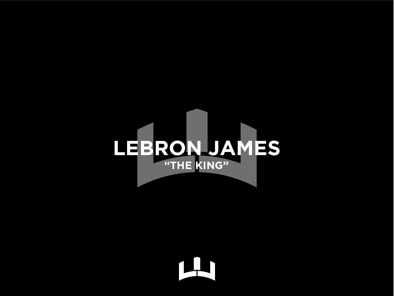 Lebron James Shoe Logo bronny king lakers nba lebron lebronjames basketball typography logo icon branding illustrator vector design