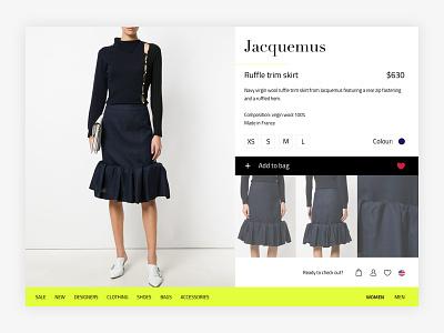 Some fashion store setup debut ui ux shop web store trend ready to wear fashion shop fashion store fashion