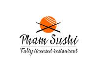 Pham sushi logo concept