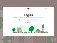 Web Concept Ui Region