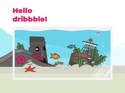Aquarium Hello Dribbble