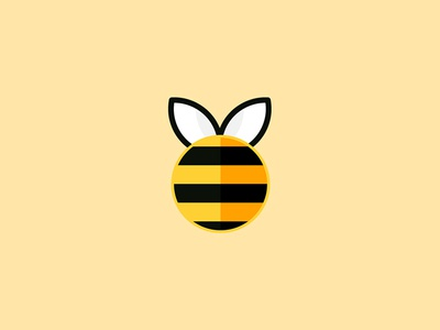 Bee Logo honeycomb honey bee branding design logo
