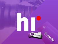 Logo design for hr media