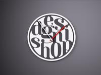 Typography Clock