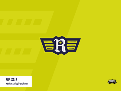 R logo - FOR SALE typography power stylish branding vector cover flat minimal design stars wings redesign respawn research logo
