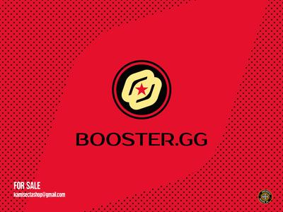 Booster GG logo - FOR SALE icon shield logo team branding gaming logo premade gg mascot esports booster logos