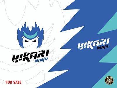 HIKARI NINJA - SOLD team branding ninja turtle ninja mascot logo design vector mascot ninjas strea japan nintendo hikari night esports ninja logo