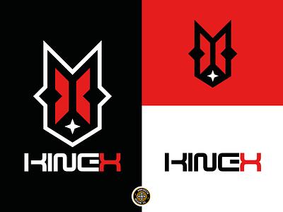 KINEX LOGO - FOR SALE ux icon typography gaming design streamer xmas vector esports mascot logo design x logo