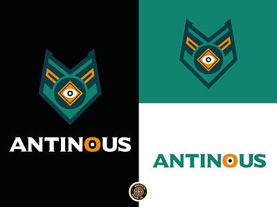 ANTINOUS LOGO - FOR SALE premade logo a day branding vector design eye piramid gaming egypt mascot esports logo