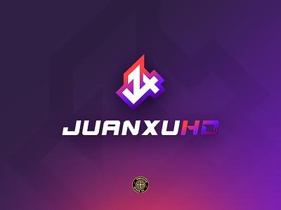 JUANXUHD - LOGO vector esports branding simple jx stream team streaming gaming hdr hd logo