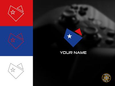 FOX AMERICAN logo - FOR SALE graphic design branding mascot vector star design team gaming zorro esports logo american animal fox