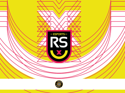 RS esports - FOR SALE clothing clothes marca branding gaming yellow vector logo esports rs graphic design
