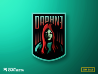Daphne mascot logo