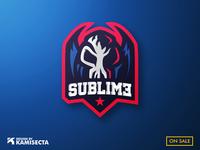 Sublime mascot logo