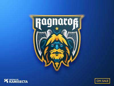 Ragnarok mascot logo