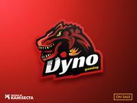 Dyno mascot logo