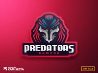 Predatos mascot logo