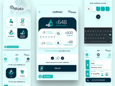 myNhaka - Android and iPhone app