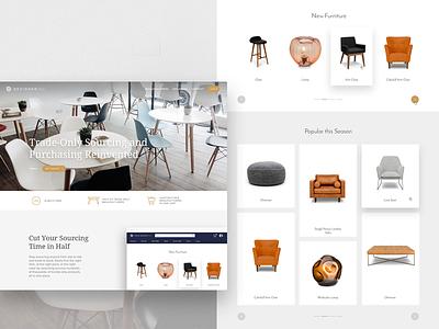 DesignerInc website app web ux design ui responsive minimal marketplace ecommerce