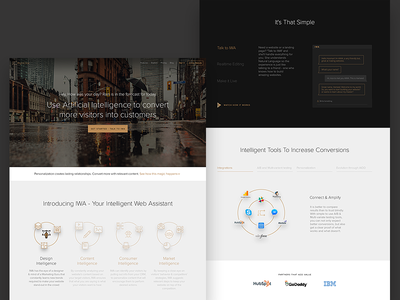 RightClick.io - Creating World Wise Website web app software hubspot startup ux uidesign ai website rightclick