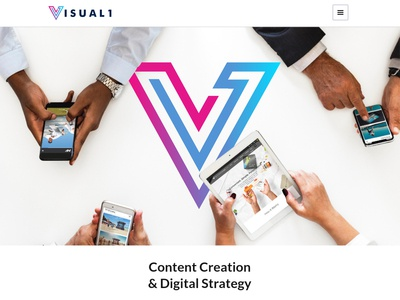 Visual1 (logo design)