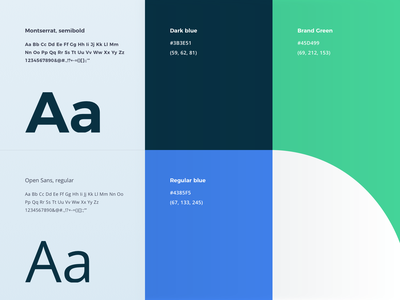 Typography and color typography color palette styles minimal branding ui rules system brand color guidelines