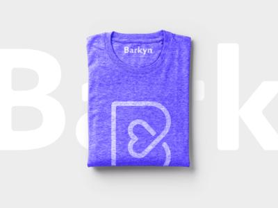 Barkyn T-Shirt dog minimal t-shirt merchandise mark logo branding brand barkyn