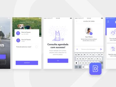 Barkyn Mobile UI