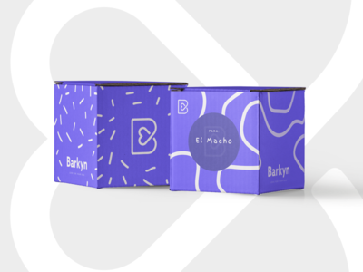 Barkyn Box Concept product design print packaging mark logo graphic design branding brand box barkyn