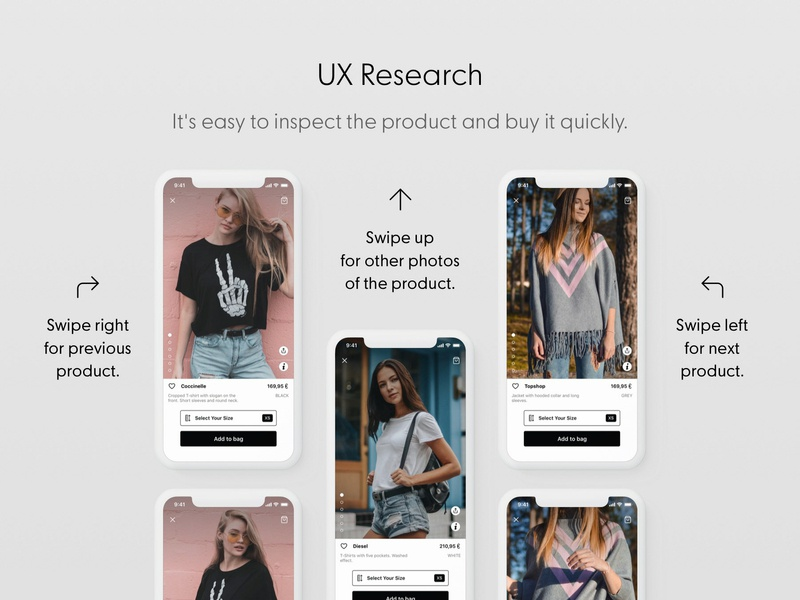 Fashion Ui Template Designs Themes Templates And Downloadable Graphic Elements On Dribbble