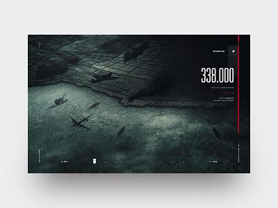 Dunkirk jam3 layout twitter mobile desktop interaction ui design interactive dunkirk