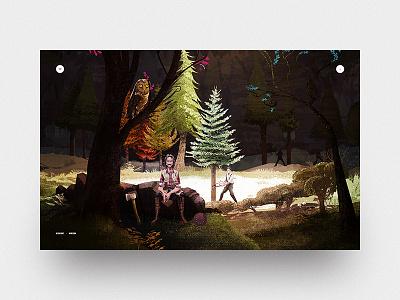 Der Magische Adventskalender unit9 mobile desktop ui design gl parallax christmas t-mobile games illustrations