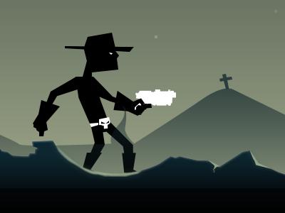 El Hero game cowboy level