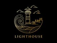 lighthouse logo design
