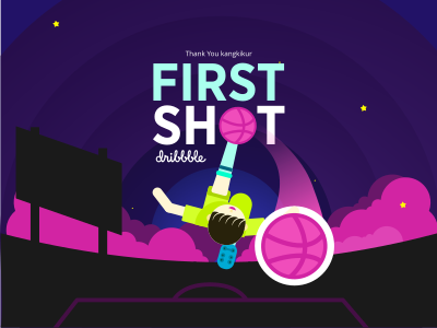 Hello Dribbble its my first shot