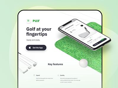 Pick Up Sitx rent golf clean web ui app