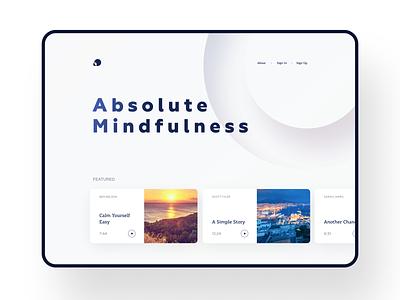 Apple Music-Like? minimalistic clean ui web