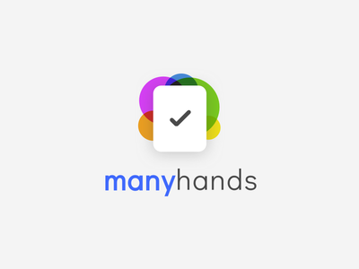 Manyhands lists shopping tasks collaboration icon logo