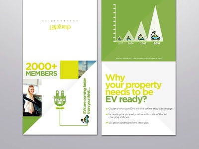 Leaflet Design - Chargenet Sri Lanka clean design clean ui logo icon creative design typography branding design vector illustration leaflet design