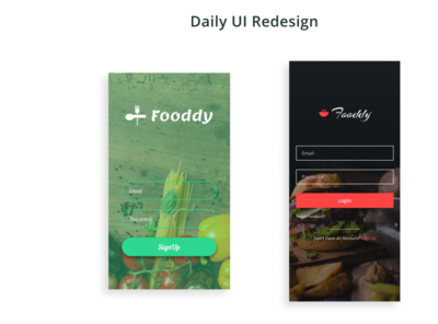 Daily UI Redesign 01