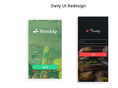 Daily UI Redesign 01 dailui figma ui  ux dailyui uiux ui app
