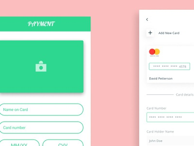 Redesign concept ui app