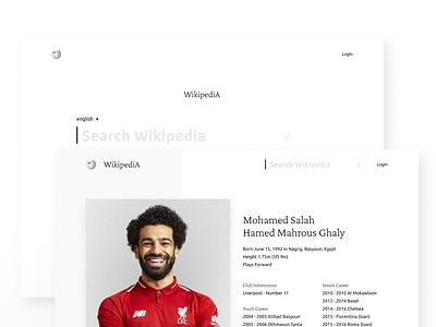 Wikipedia Redesign ux design ui design wikipedia figma challenge adobe xd resume