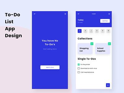 To-Do App Concept challenge adobe xd resume