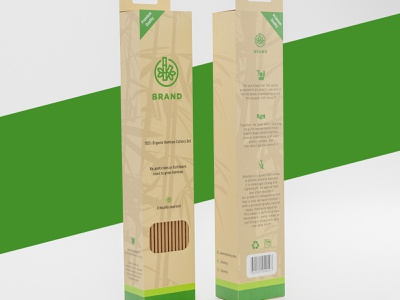 Product Packaging│ Cutlery Packaging │ Product Label ecofriendly packaging cutlery pacakging product packaging product package package design package packaging design label design graphic design box design 3d product pacakge