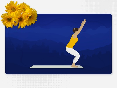 Utkatasana - Iyengar Yoga