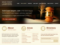 Gold Coast Lawyers Redesign