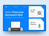 Kiosk for Documents Printing