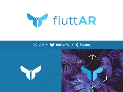 FluttAR Logo